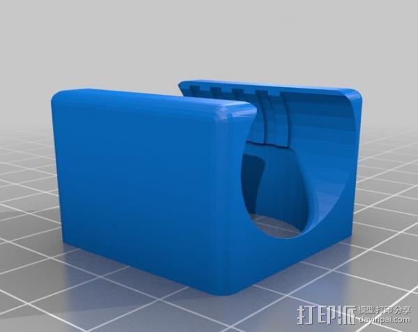 通风导管 3D模型  图2