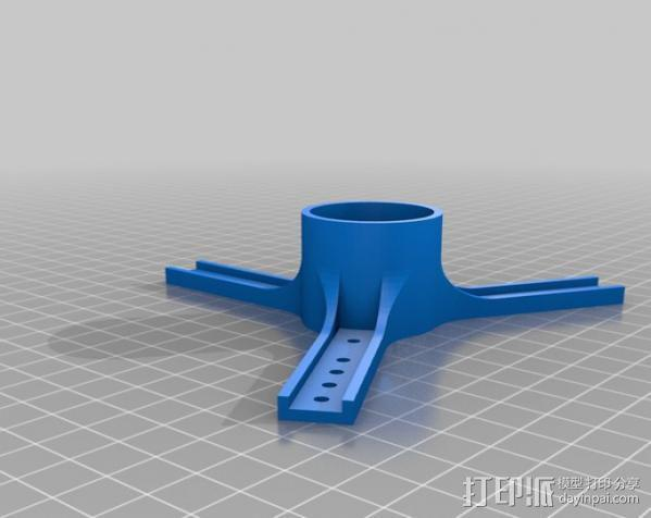 Laywoo-D3线轴架 3D模型  图1