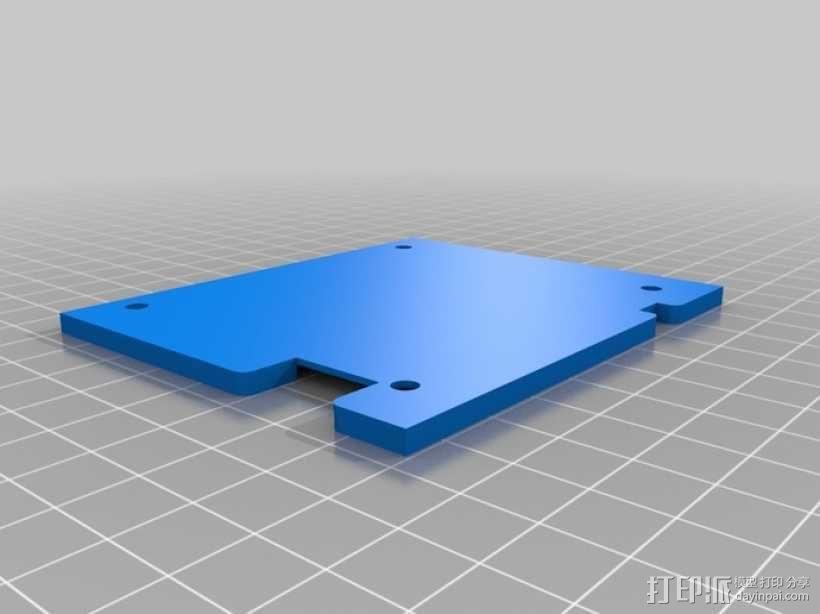 RepRap触摸液晶屏 3D模型  图7