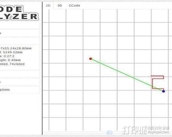 G码观察仪 3D模型  图2