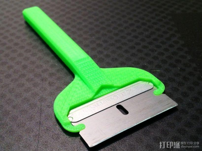 EZ-Snap 刀片架 3D模型  图2