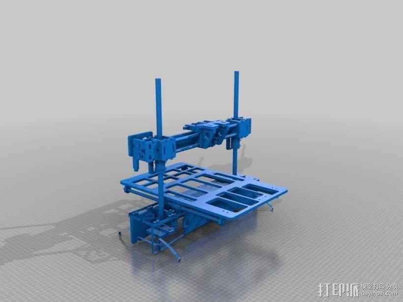 3D打印 集成电路板 3D模型  图4