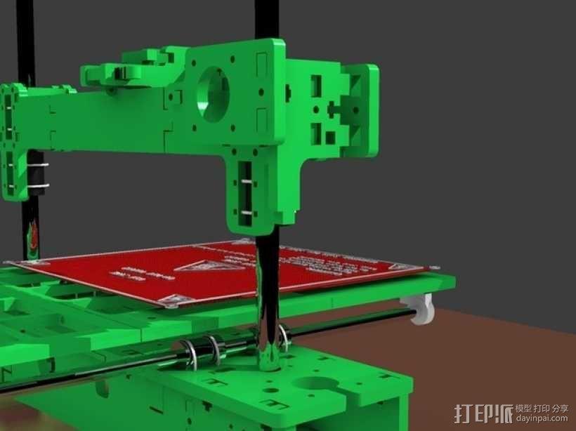 3D打印 集成电路板 3D模型  图1