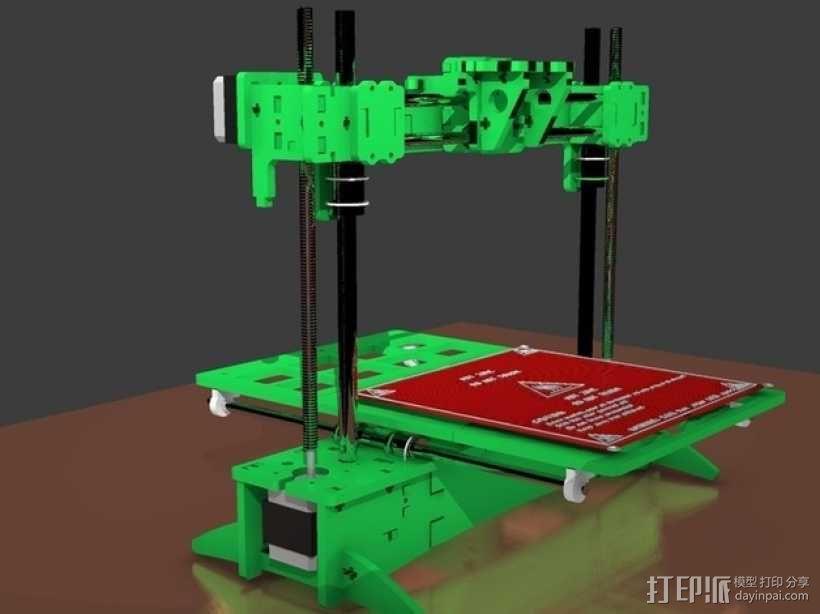 3D打印 集成电路板 3D模型  图3