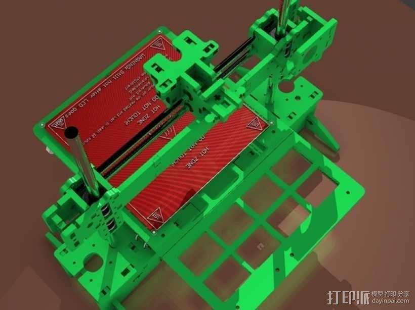 3D打印 集成电路板 3D模型  图2