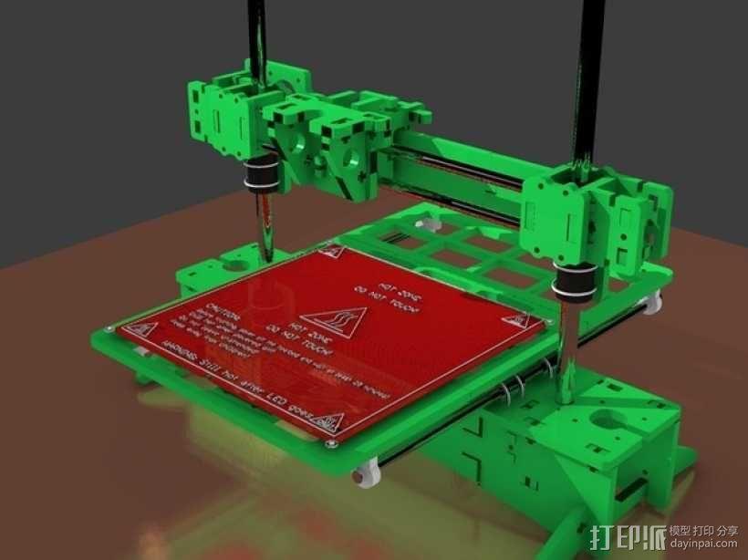 3D打印 集成电路板 3D模型  图5