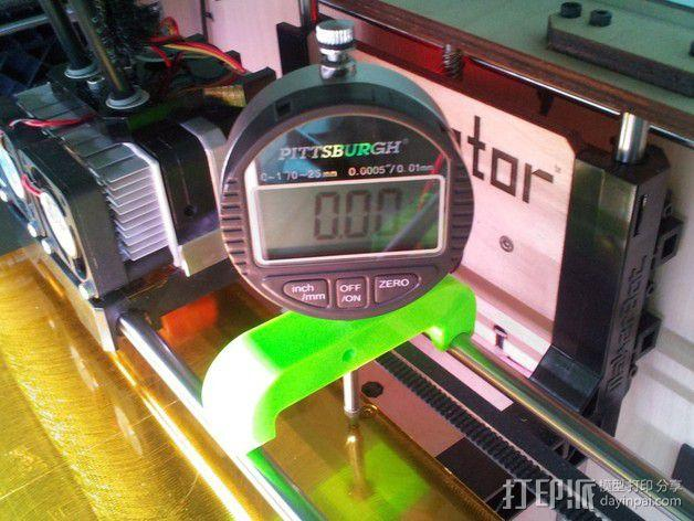 打印机仪表盘支架 3D模型  图2