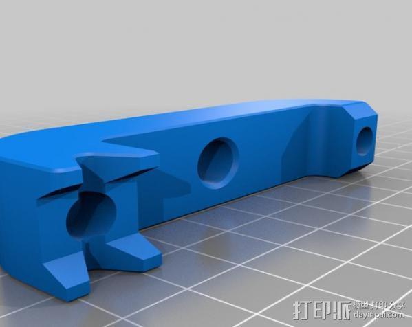 打印机仪表盘支架 3D模型  图6