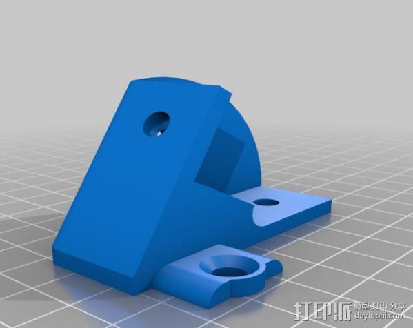 MendelMax 1.5打印机 3D模型  图3