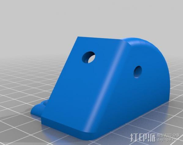 MendelMax 1.5打印机 3D模型  图4