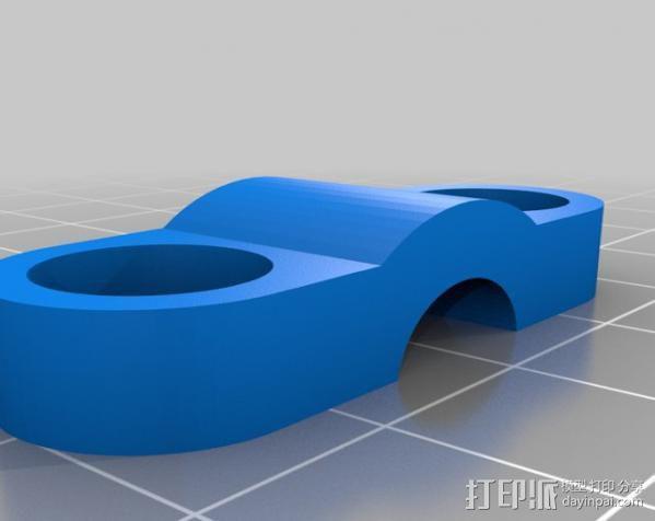 MendelMax 1.5打印机 3D模型  图10