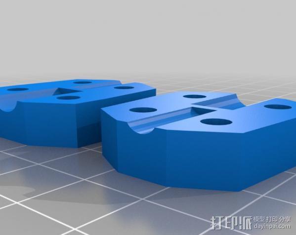 参数化 联轴器 3D模型  图1