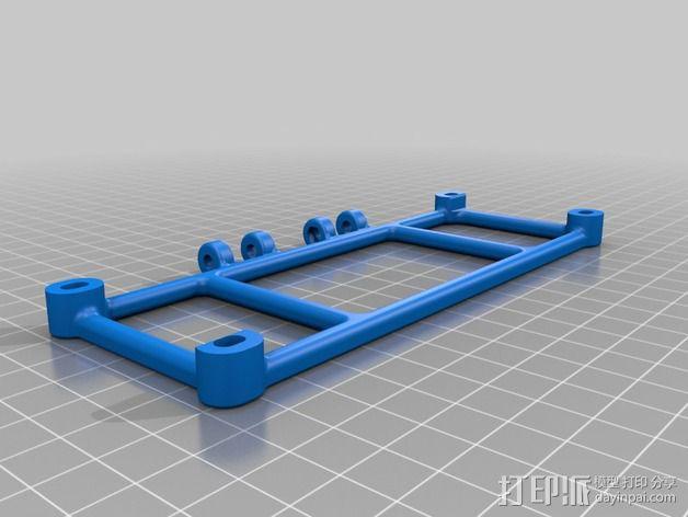 PRUSA I3电子显示屏支架 3D模型  图4