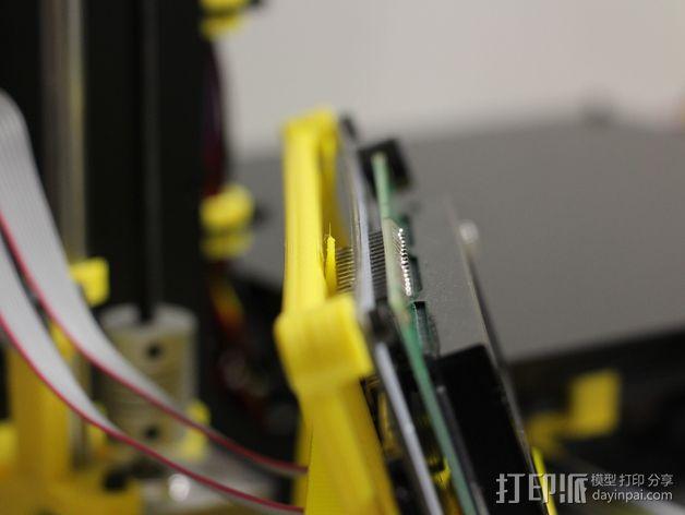PRUSA I3电子显示屏支架 3D模型  图5