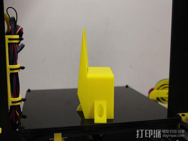 PRUSA I3电子显示屏支架 3D模型  图10