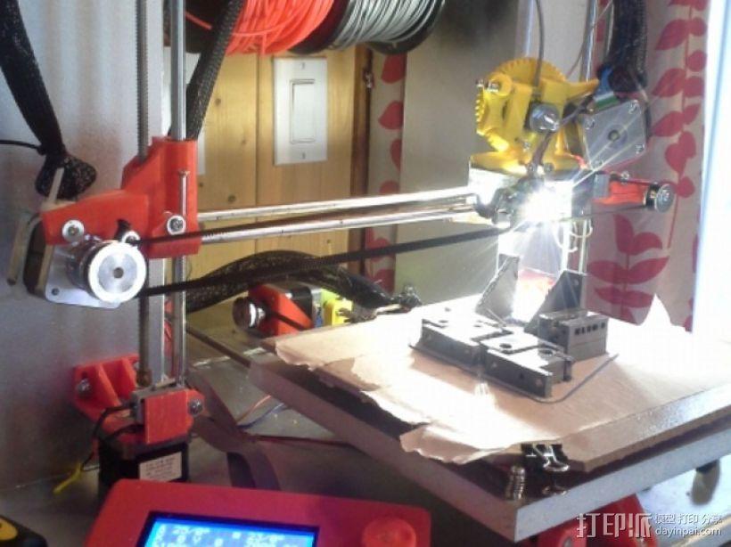 Mendel 3D打印机 3D模型  图1