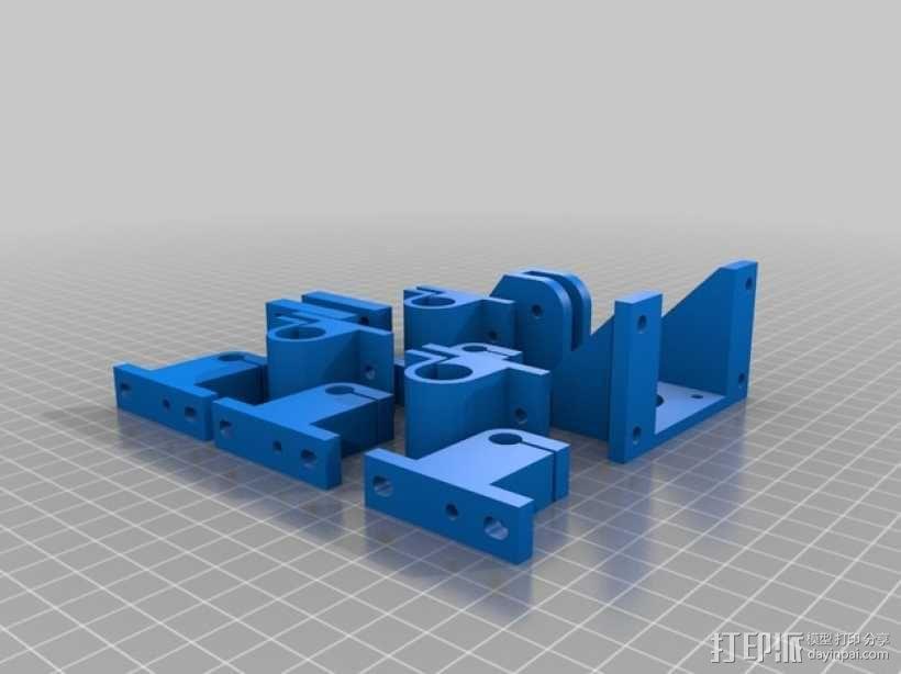 Mendel 3D打印机 3D模型  图4