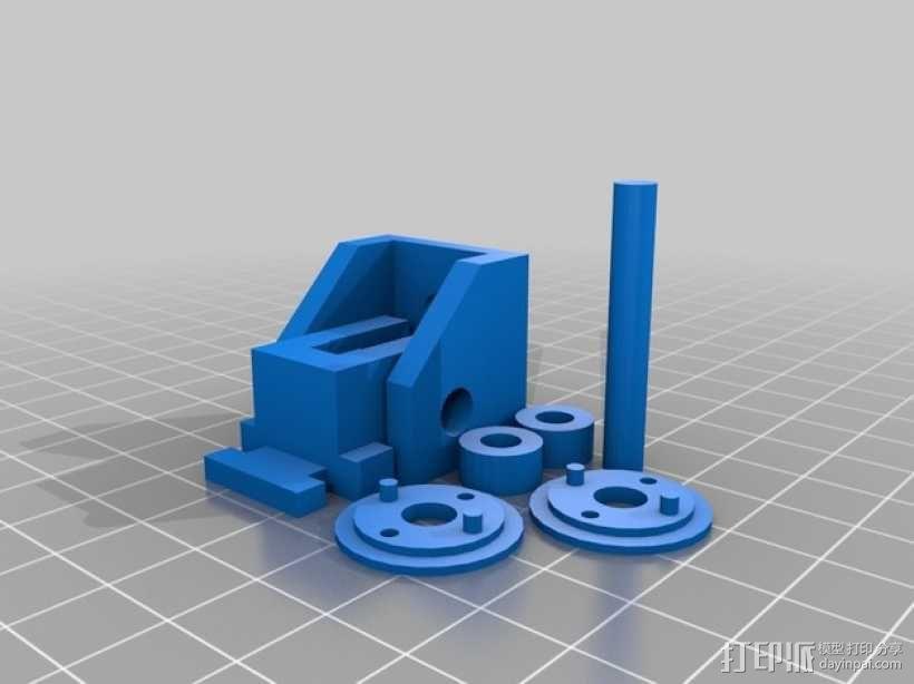 Robo 3D打印机导丝管 3D模型  图2