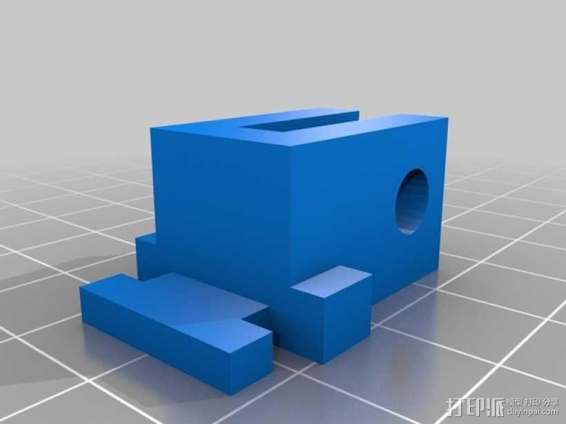 Robo 3D打印机导丝管 3D模型  图5