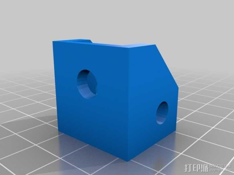 Robo 3D打印机导丝管 3D模型  图3