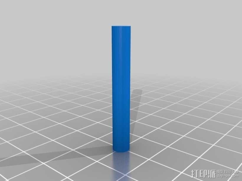 Robo 3D打印机导丝管 3D模型  图6