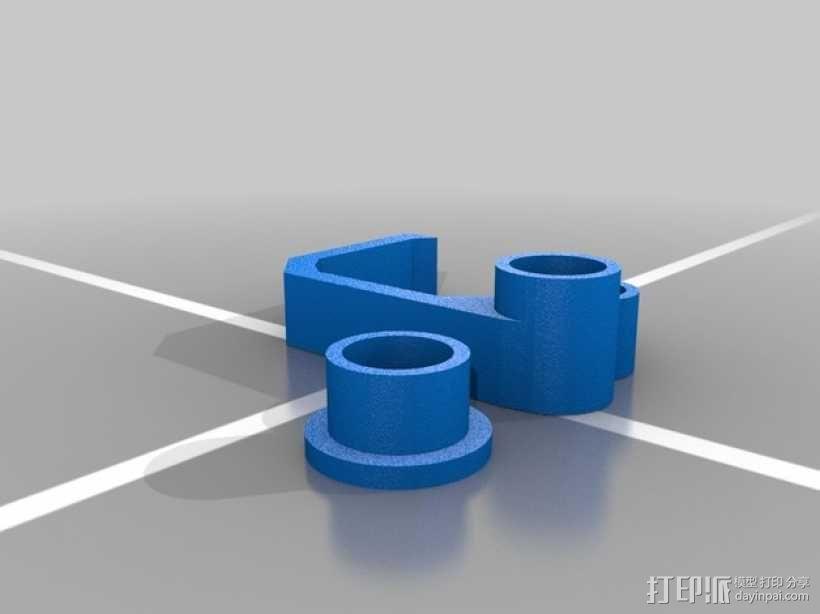 导线管 3D模型  图2