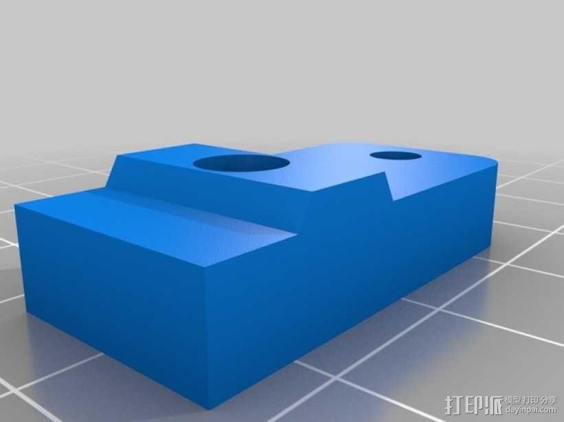 i3打印机Z轴限位开关 3D模型  图3