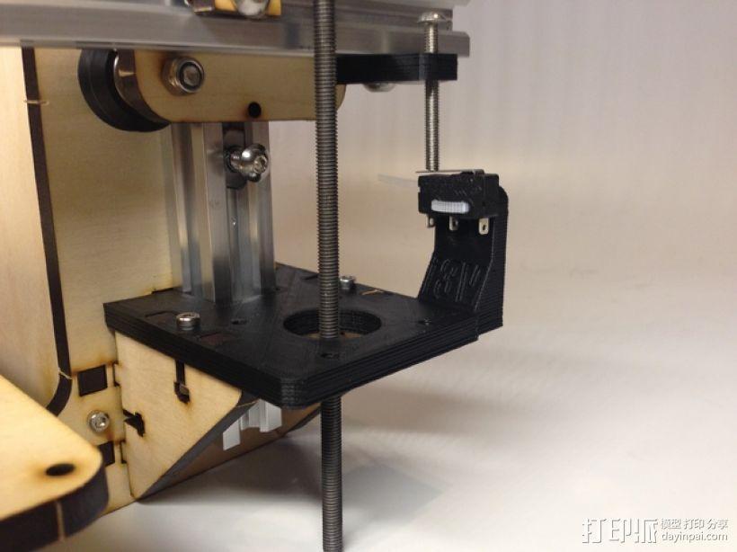 i3打印机Z轴限位开关 3D模型  图1