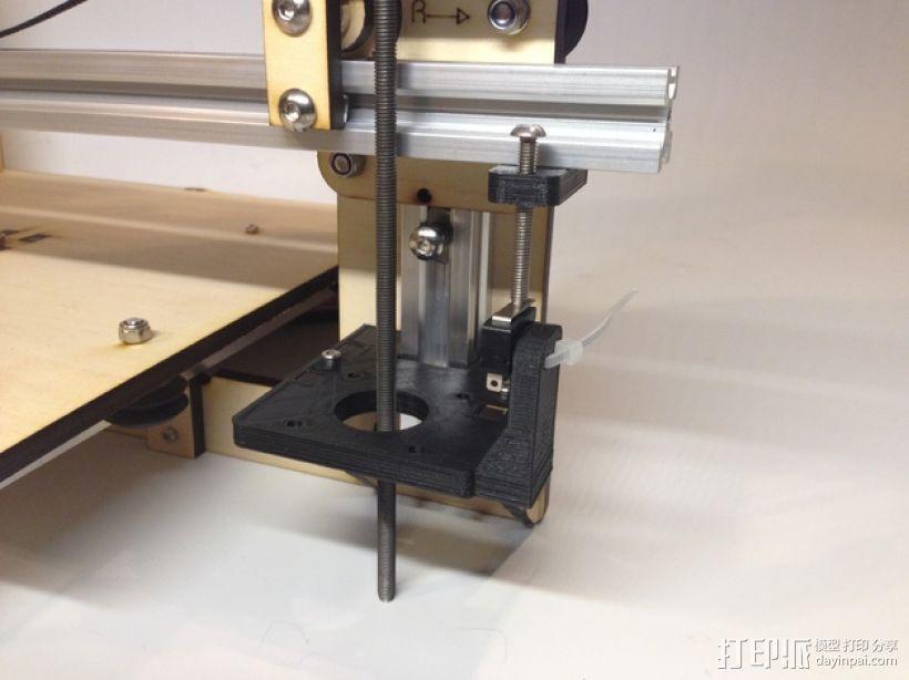 i3打印机Z轴限位开关 3D模型  图5