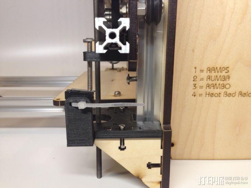 i3打印机Z轴限位开关 3D模型  图4
