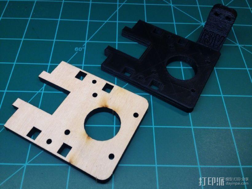 i3打印机Z轴限位开关 3D模型  图7
