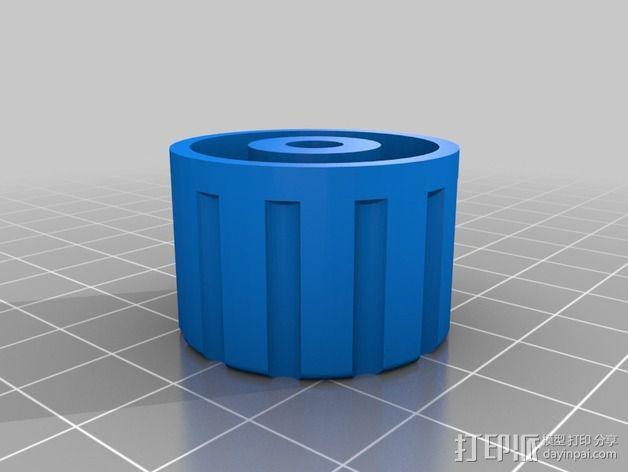 旋钮 3D模型  图1
