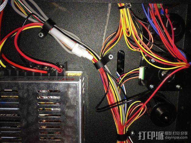 挤出机LED灯 3D模型  图7