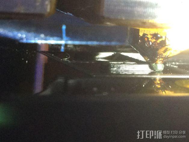 挤出机LED灯 3D模型  图8