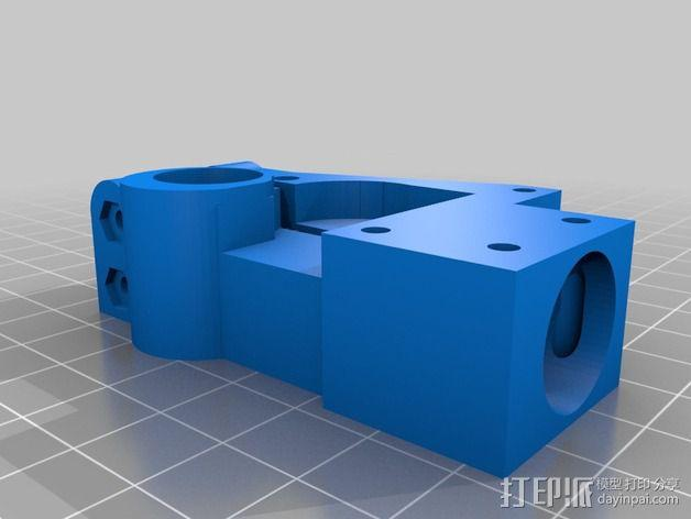 Mini Fala挤出机 3D模型  图1