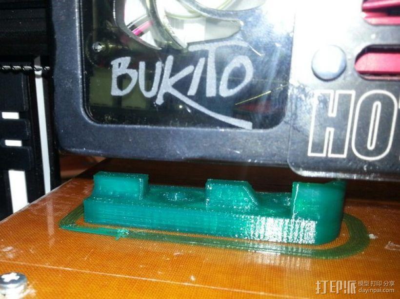 Bukito Idler滑轮托架 3D模型  图4