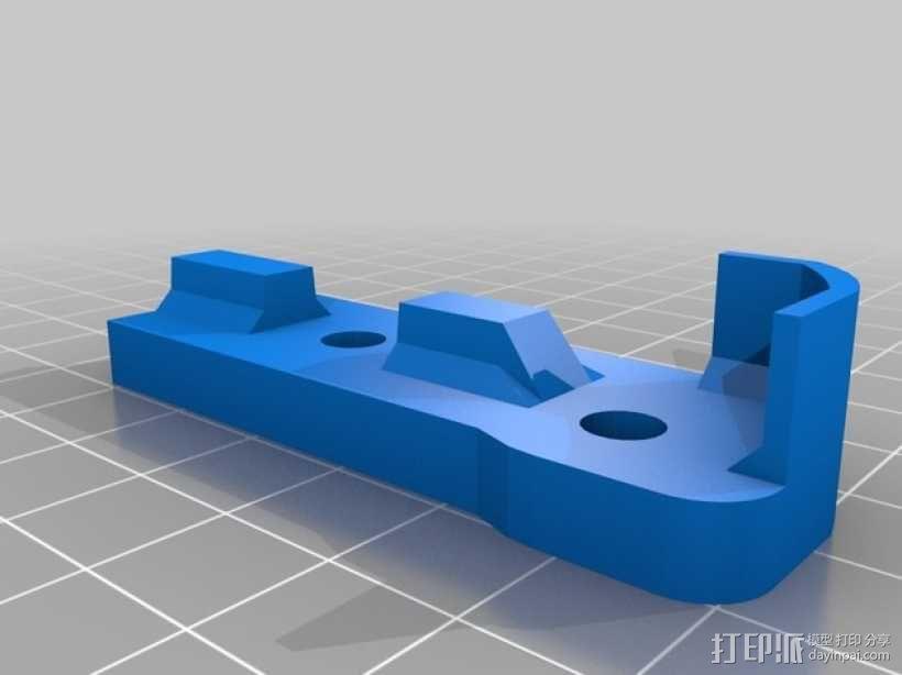 Bukito Idler滑轮托架 3D模型  图6