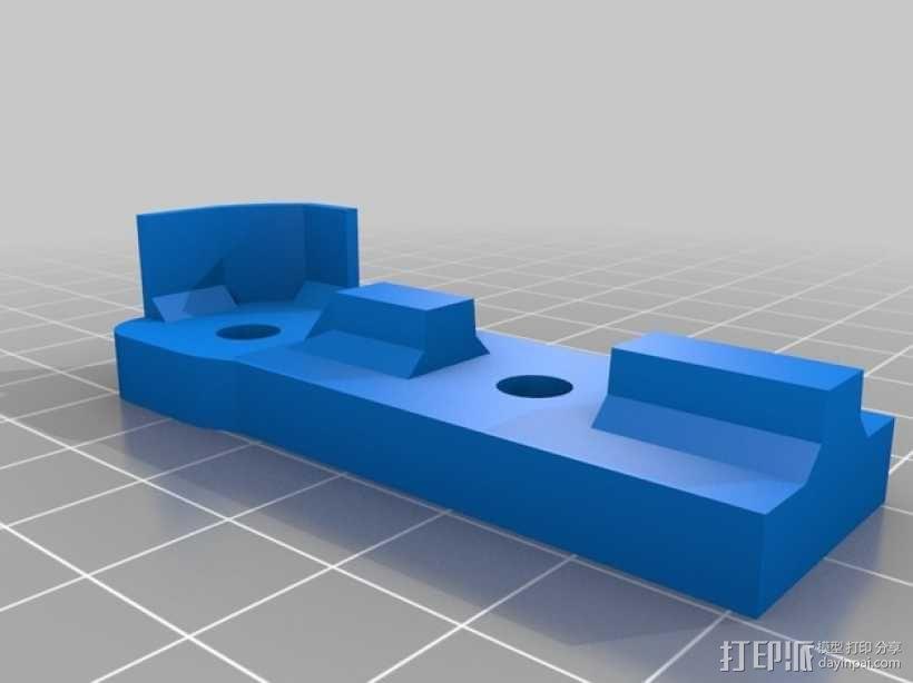 Bukito Idler滑轮托架 3D模型  图7