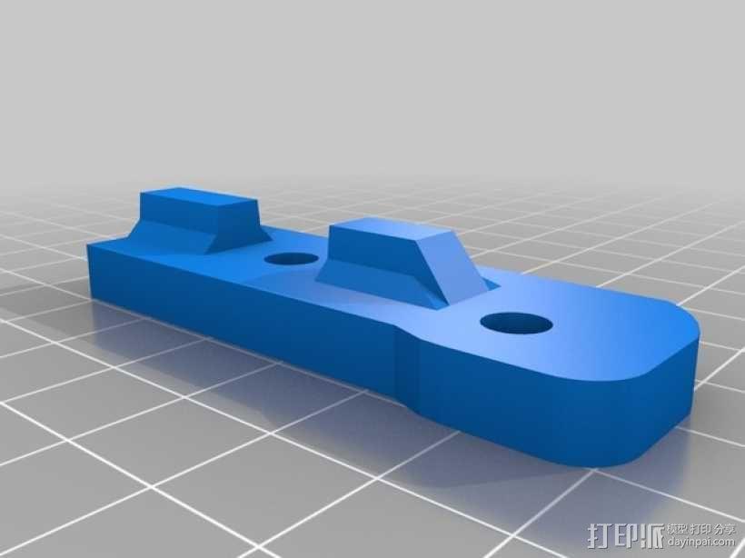 Bukito Idler滑轮托架 3D模型  图8