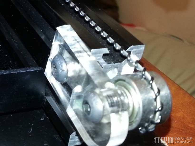 Bukito Idler滑轮托架 3D模型  图10