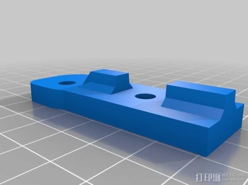 Bukito Idler滑轮托架 3D模型  图9