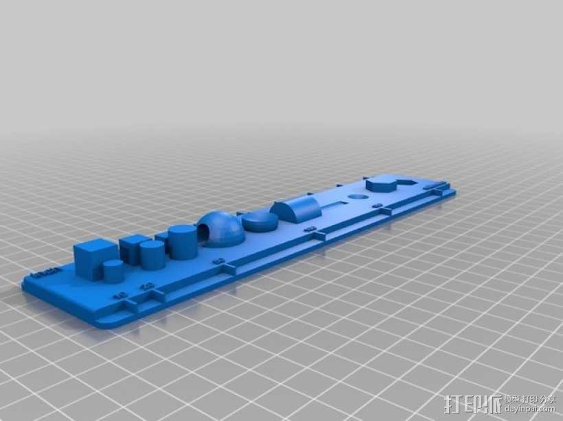 CAD刻度尺模型 3D模型  图1