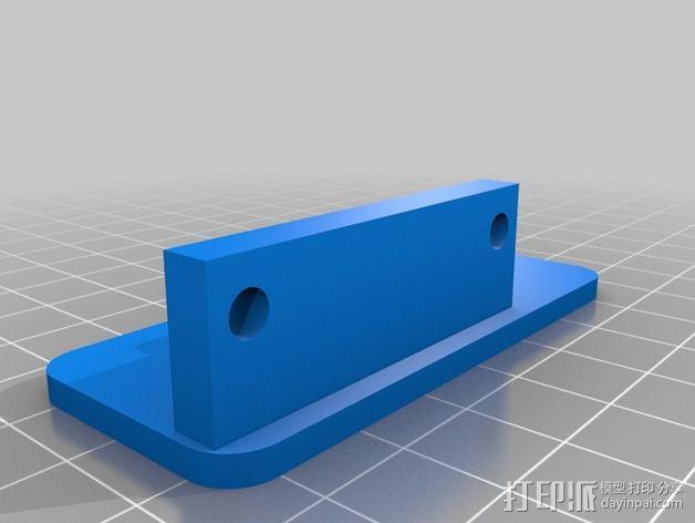 Kossel mini仪表板 3D模型  图2