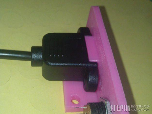 Kossel mini仪表板 3D模型  图7