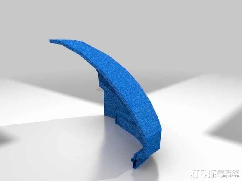 光晕头盔 3D模型  图2
