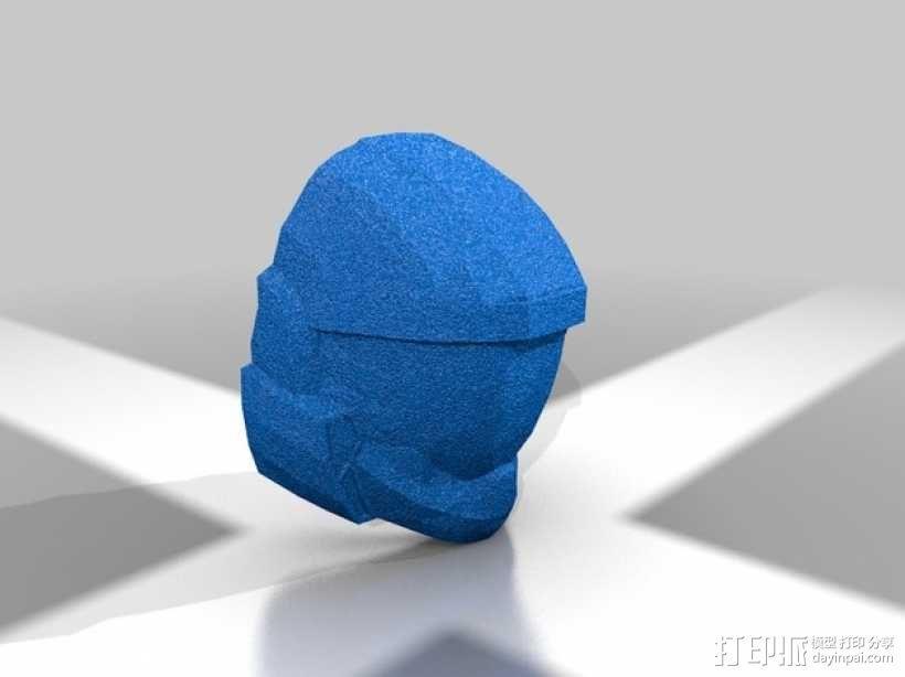 光晕头盔 3D模型  图10
