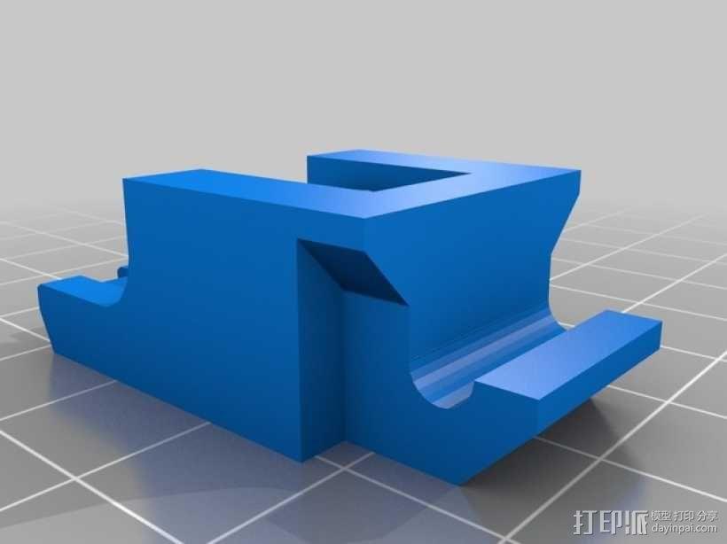 挤出机惰轮 3D模型  图3