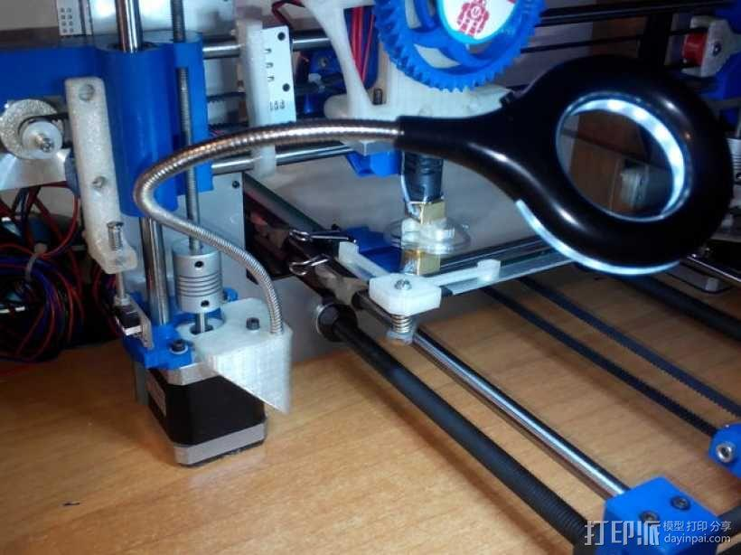 Prusa i3打印机LED灯座 3D模型  图2