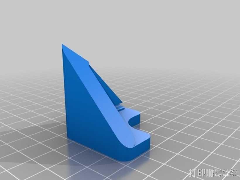 Prusa i3打印机LED灯座 3D模型  图1