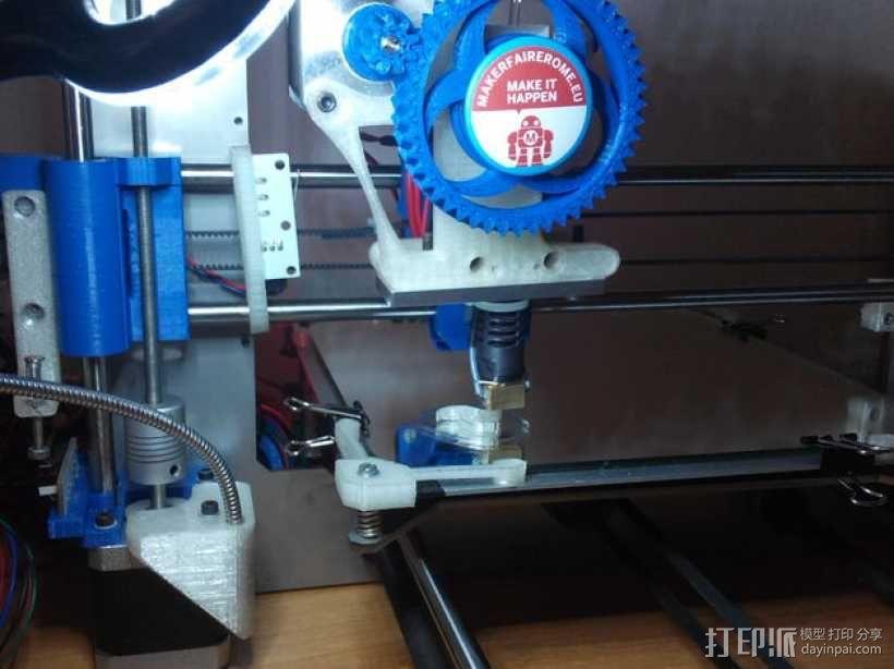 Prusa i3打印机LED灯座 3D模型  图4